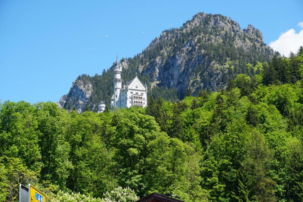 chateau neuschwanstein loin