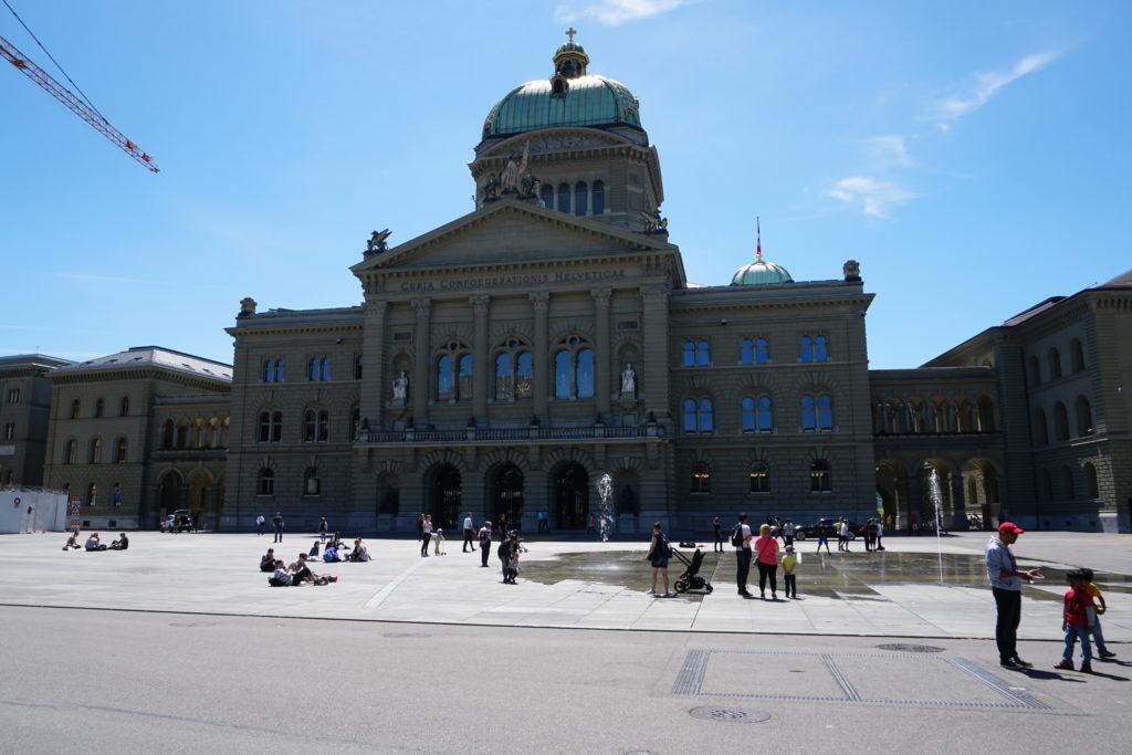 palais federal berne suisse
