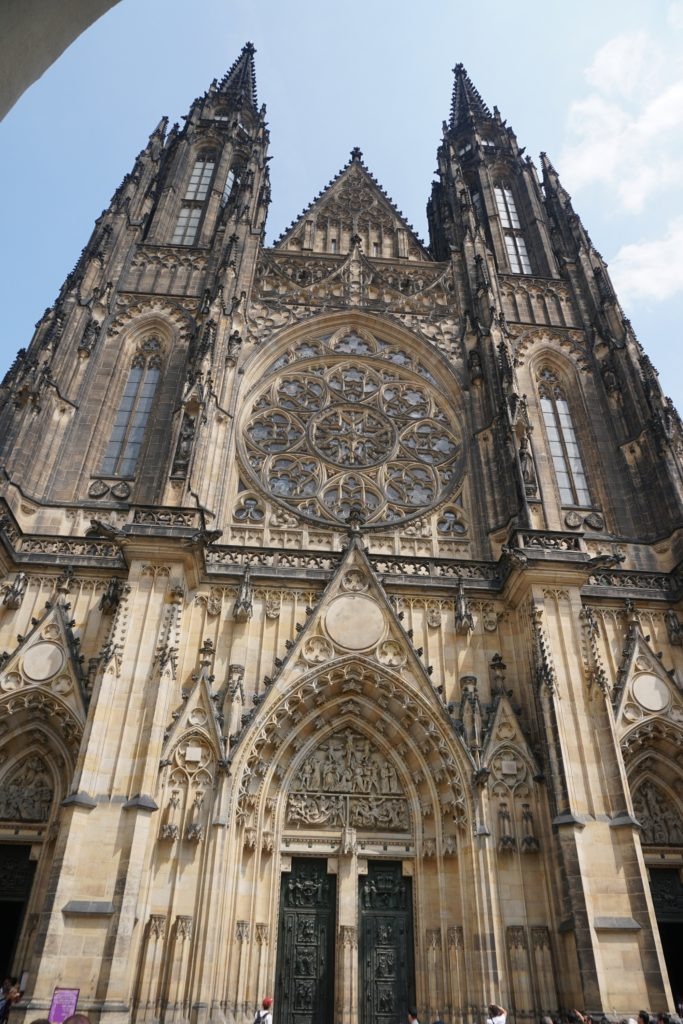 prague cathedrale saint guy