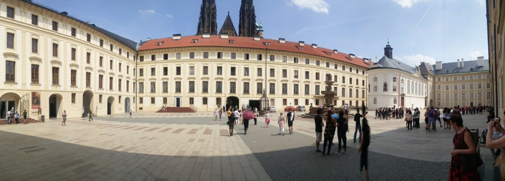 prague chateau