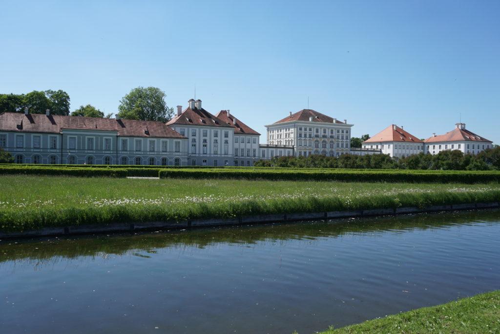jardin chateau de nymphenburg