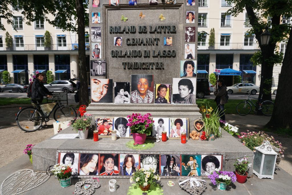 michael jackson munich memorial