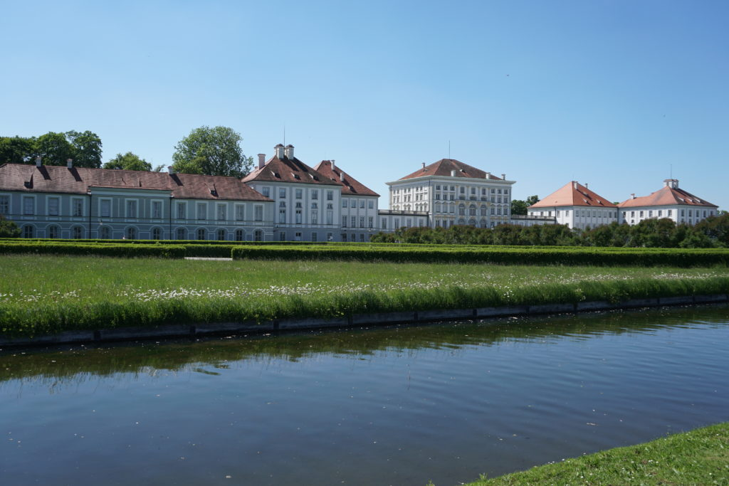 nymphenburg palace garden