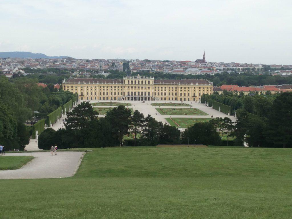 palais de schonbrunn vienne autriche
