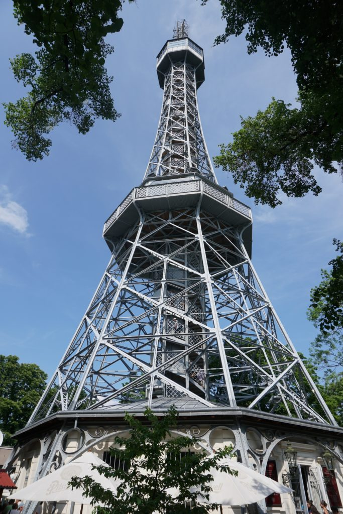 prague petrin lookout tower