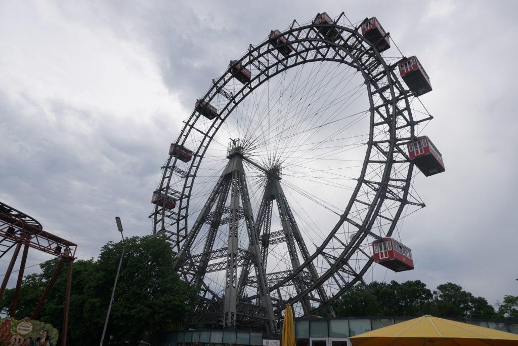 vienne prater grande roue