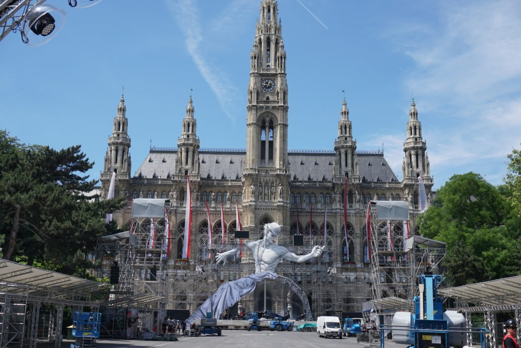 rathaus city hall vienna austria