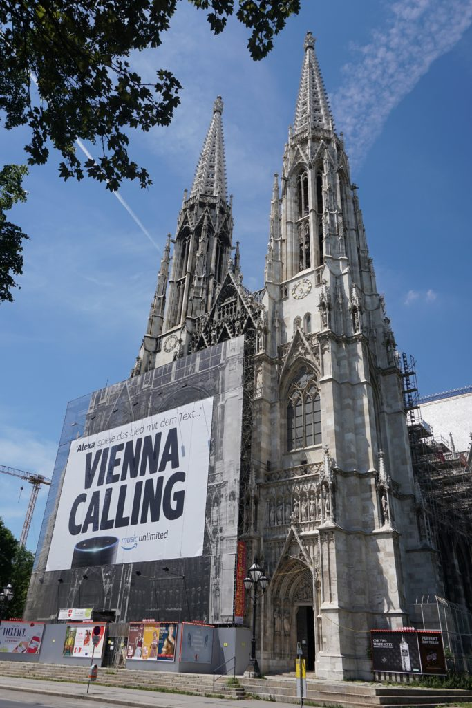 votive church vienna austria