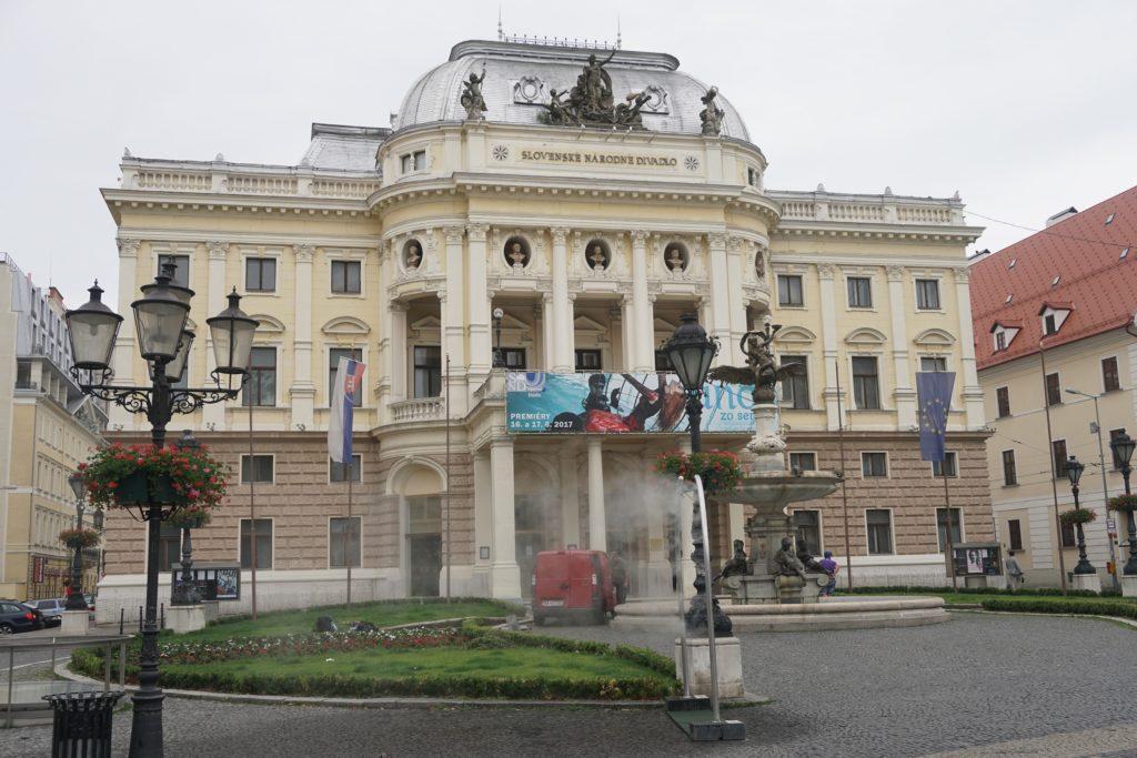 ancien batiment du theatre national slovaque