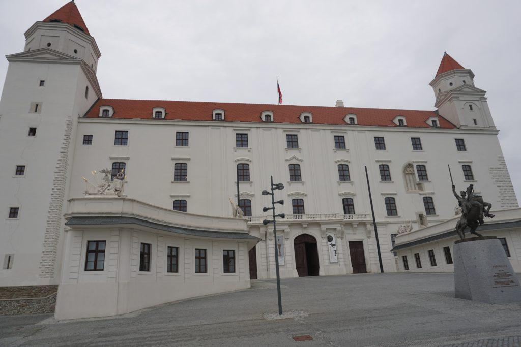 château de Bratislava