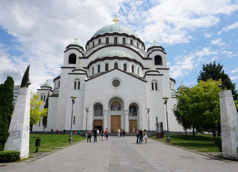 Belgrade the white city