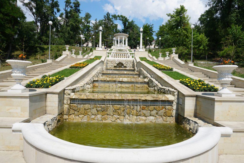 moldavie chisinau fontaine