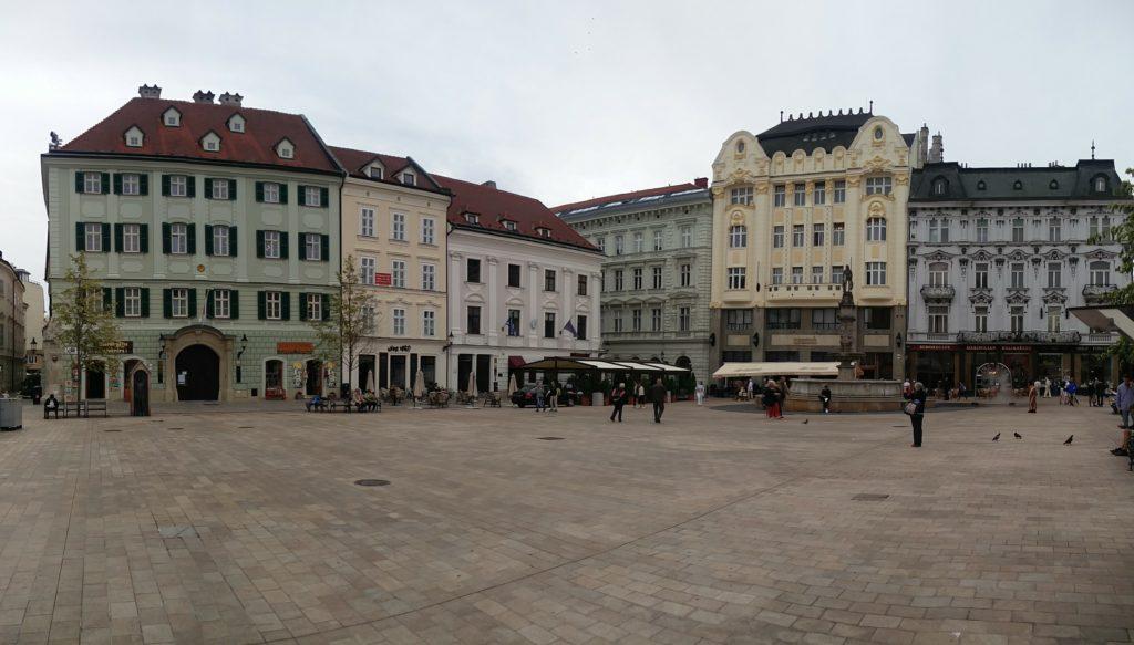 main square bratislava