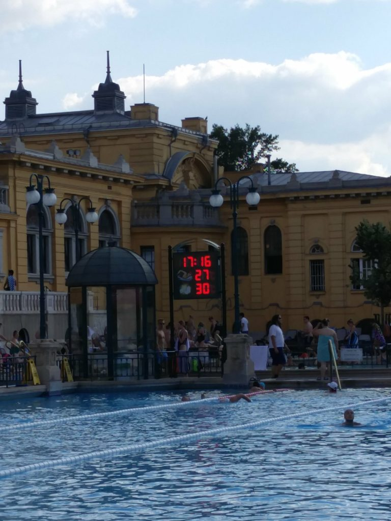 temperature szechenyi baths