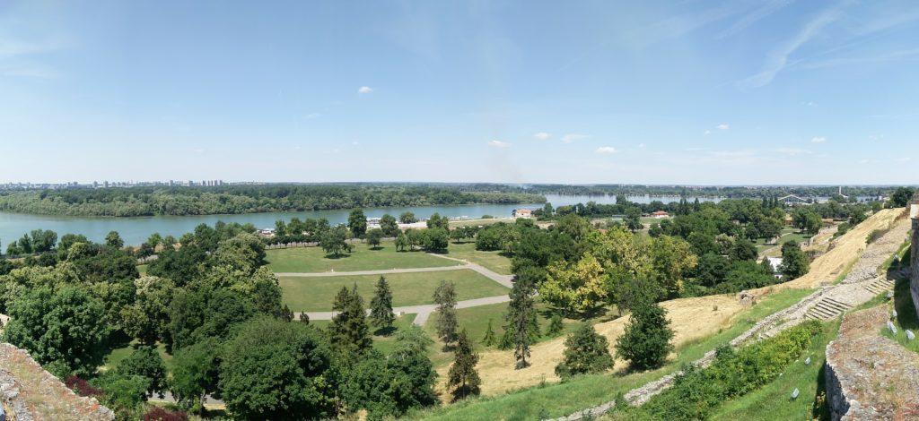 vue forteresse belgrade