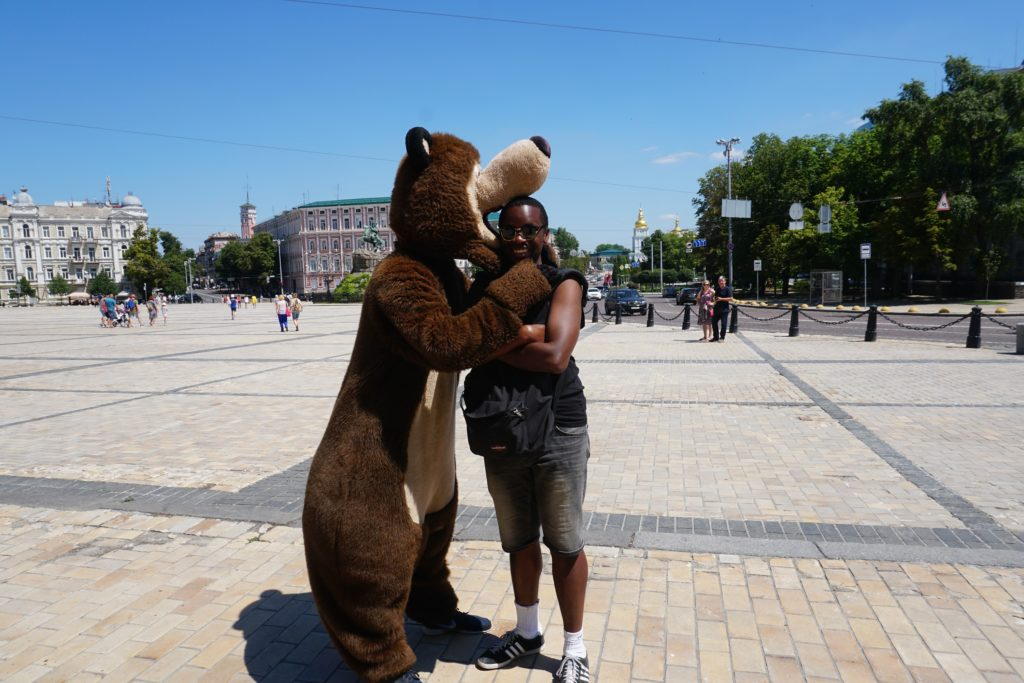 kiev ukraine racism travel
