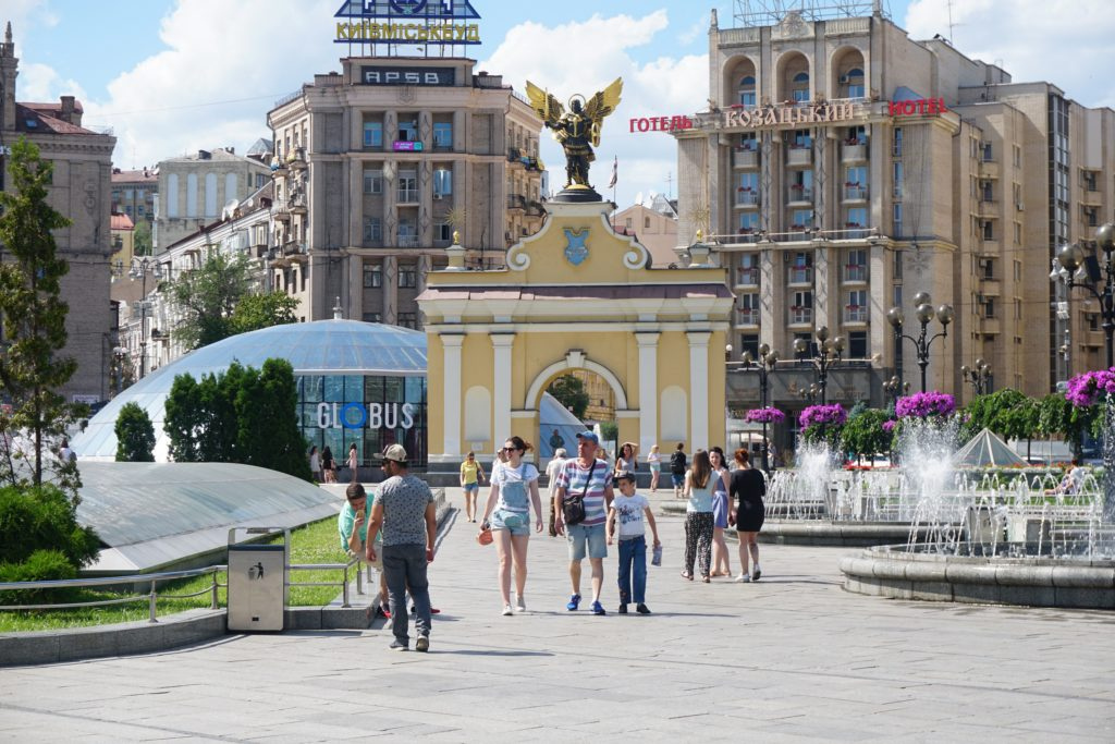 kiev travel scams
