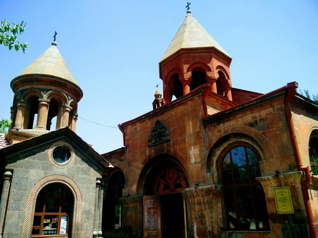 Astvatsatsin church yerevan