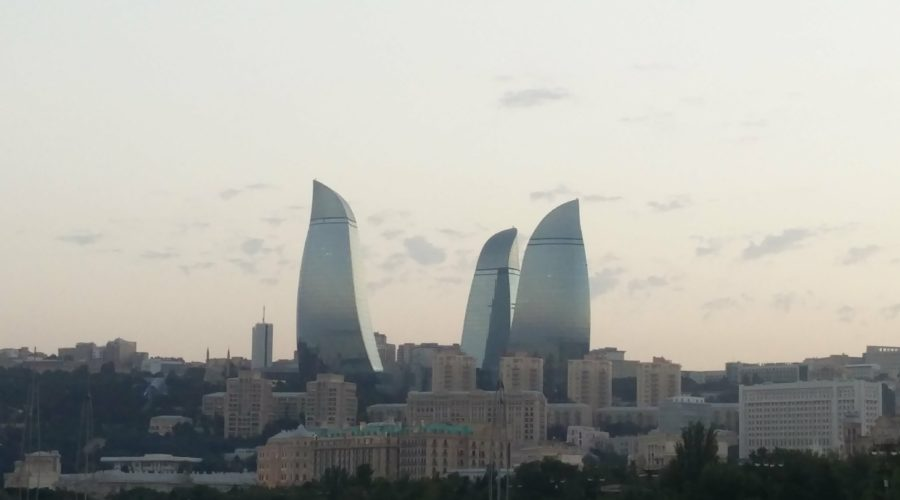 Visiting Baku in Azerbaijan