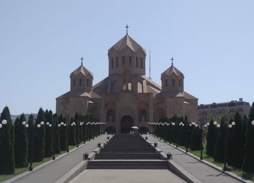 Erevan, ville française en Arménie