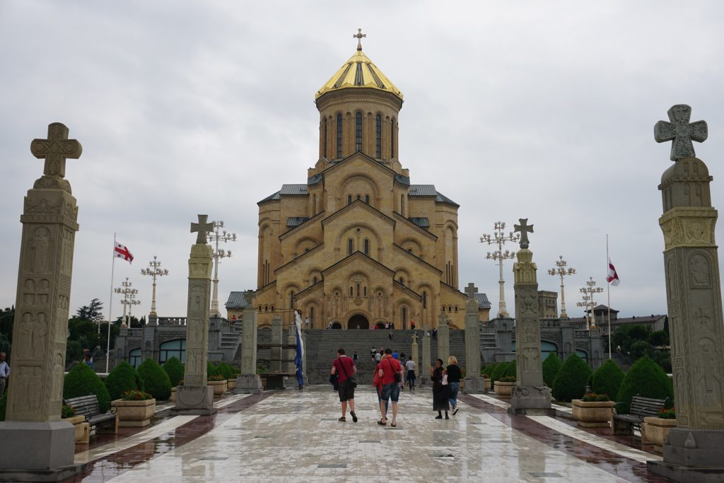 cathedrale de la trinite de tbilissi