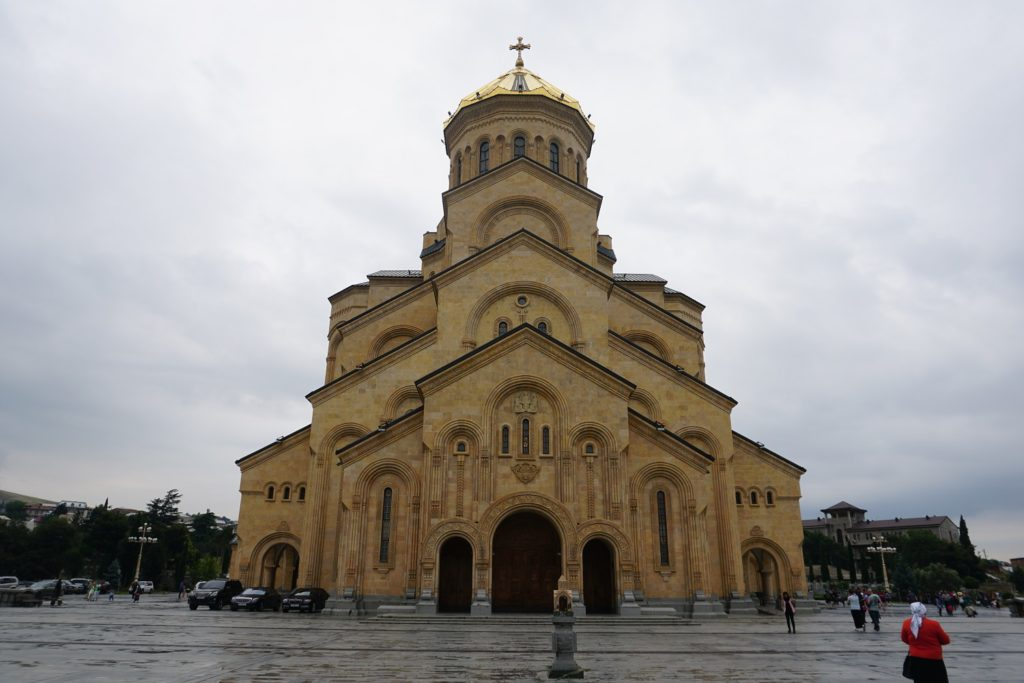 cathedrale tbilissi voyager seul