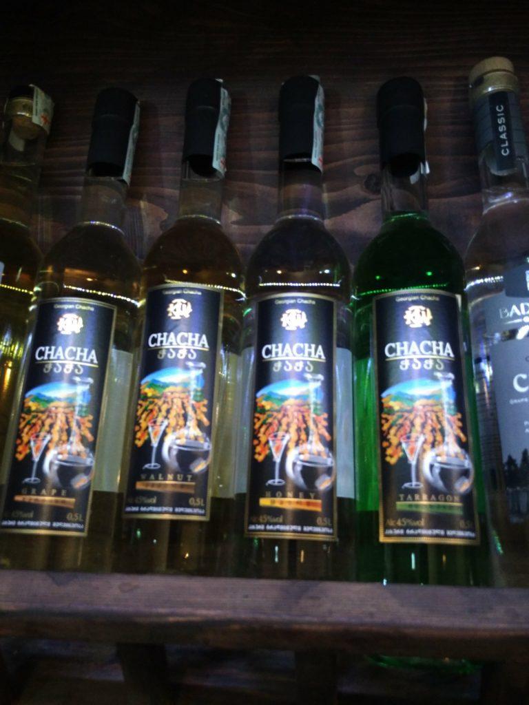 chacha alcool georgie