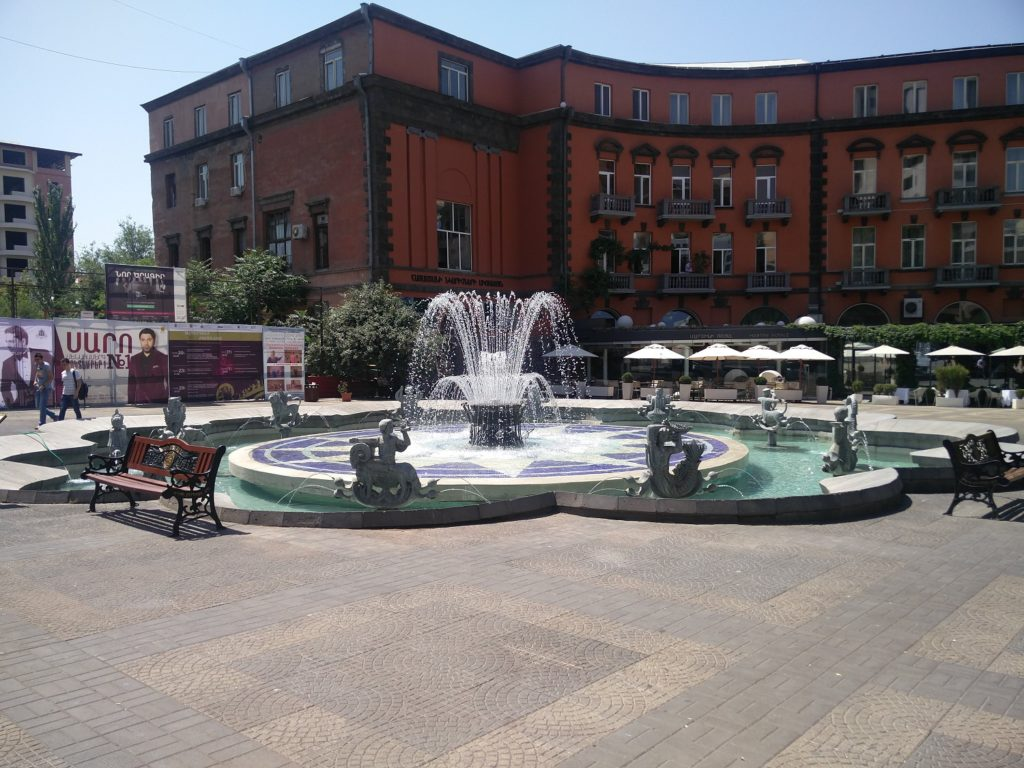 charles aznavour square yerevan