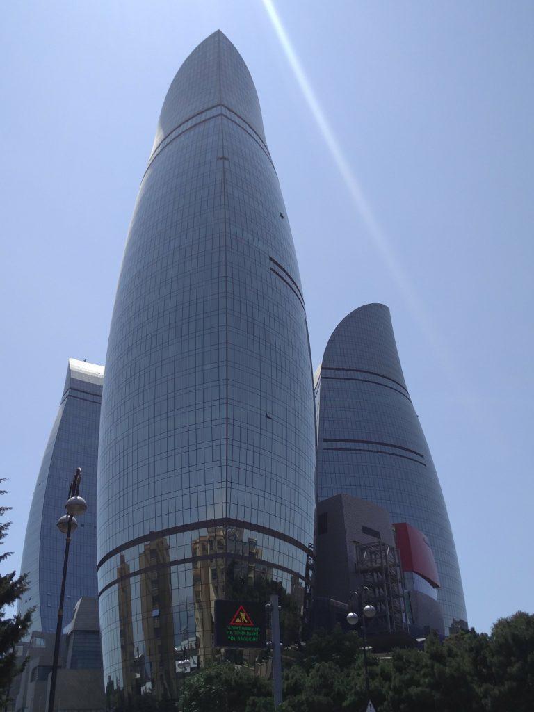 flame towers bakou