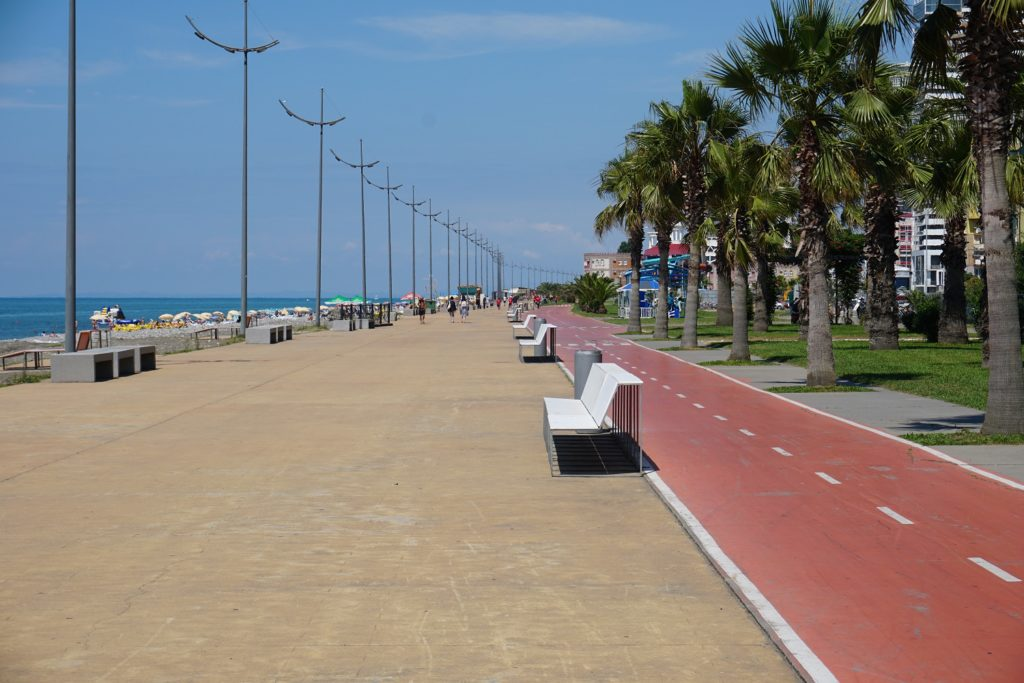batumi beach lucky to travel