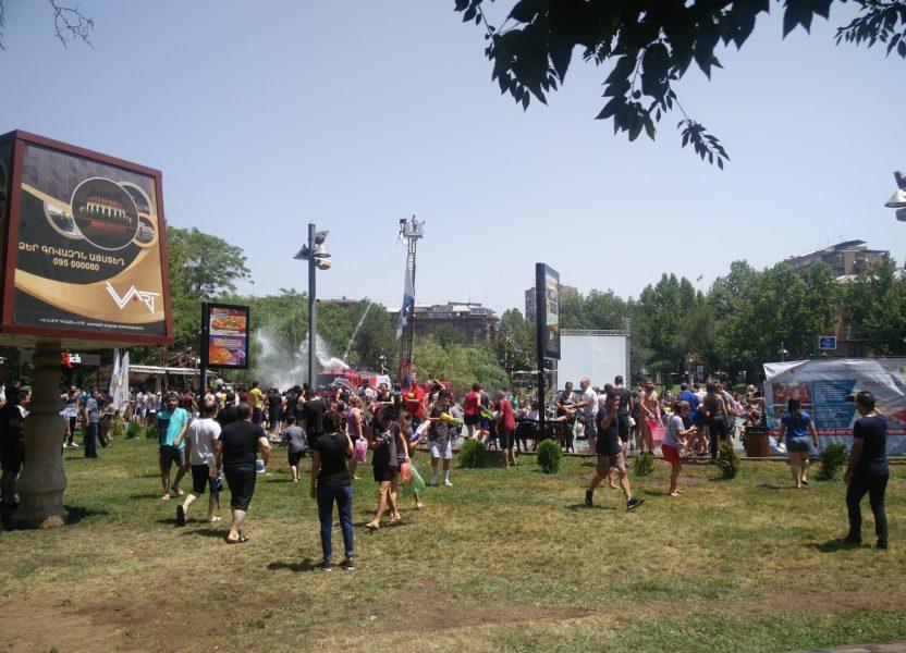 Vardavar festival in Armenia