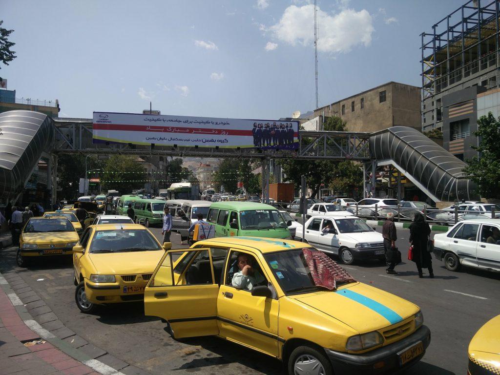 taxi teheran arnaques voyage