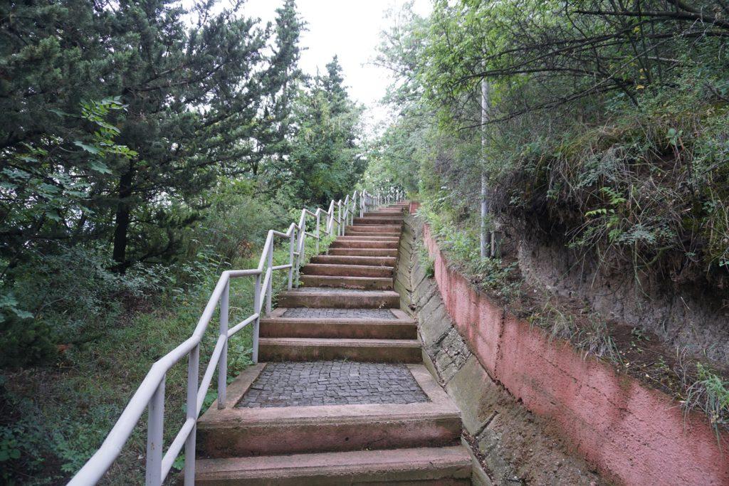 escalier parc mtatsminda tbilissi