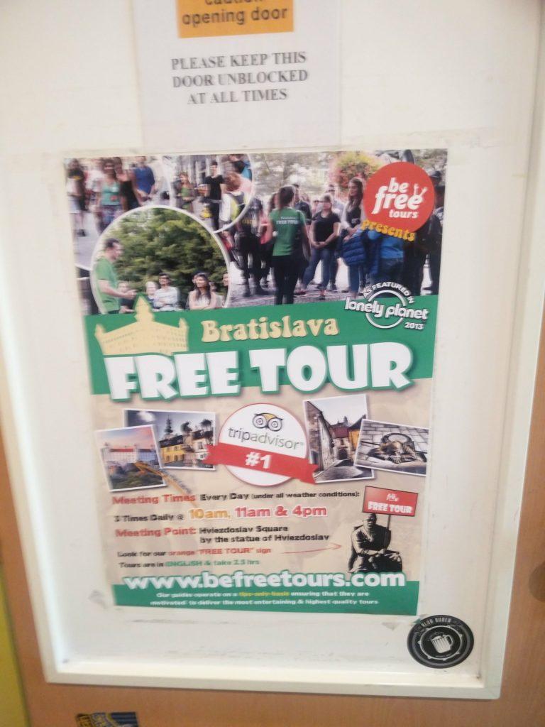 free walking tour bratislava