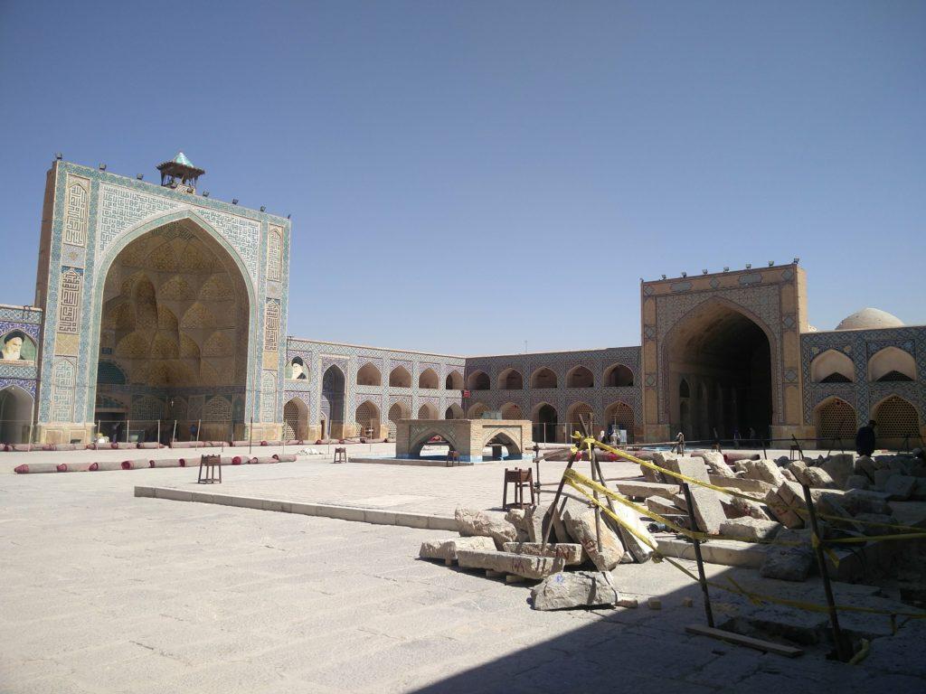 grande mosquee d'ispahan