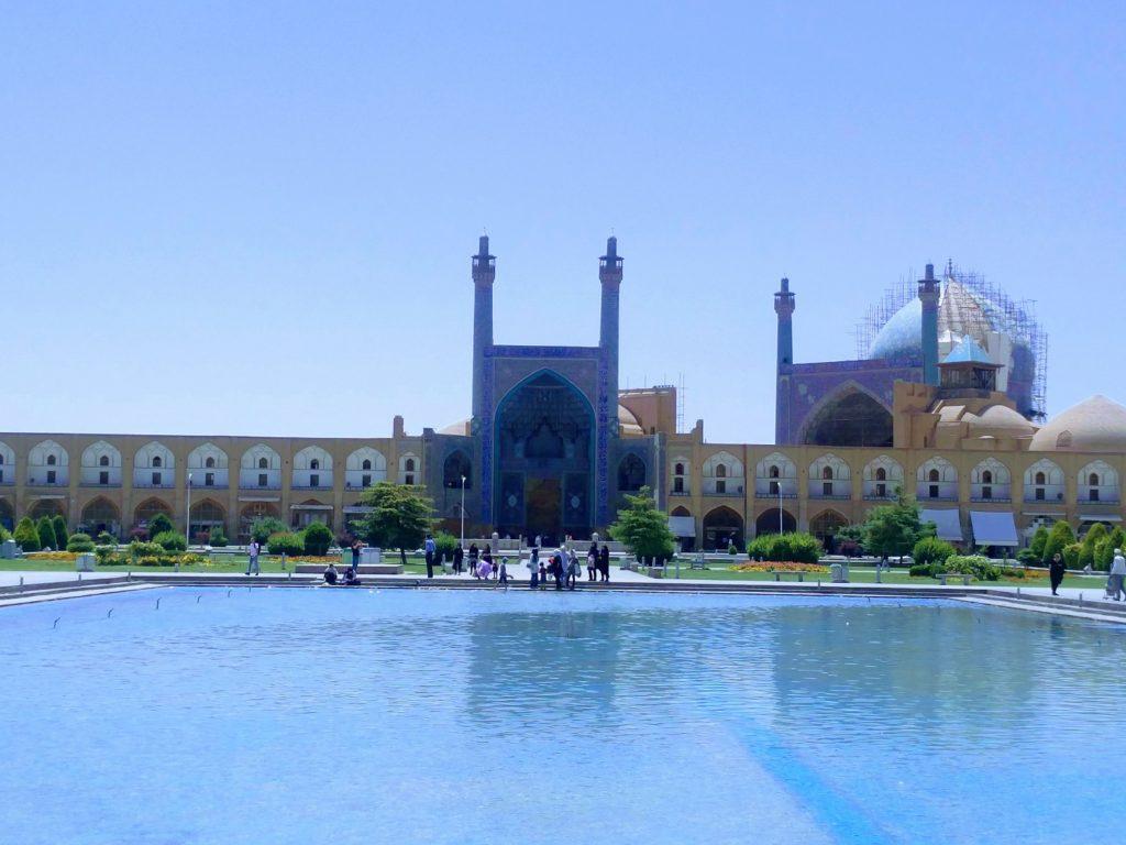 mosquee de l'imam ispahan