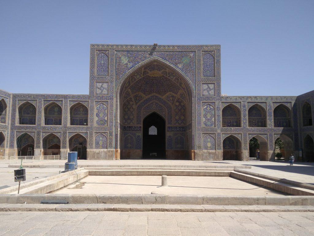 mosquee de l'imam ispahan cour
