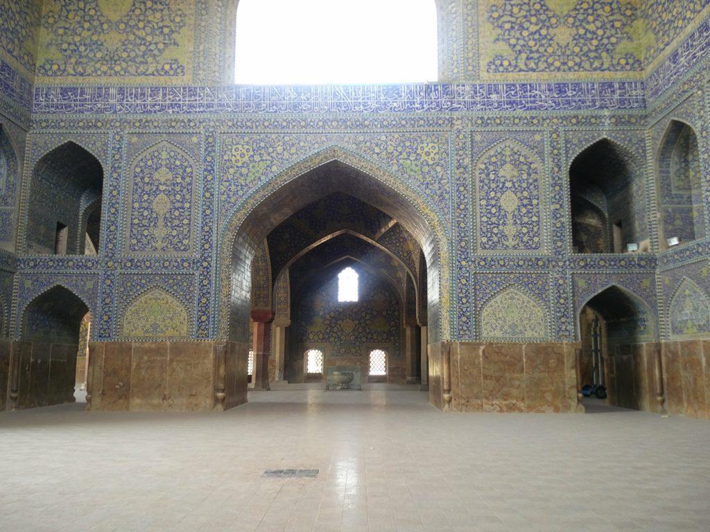 mosquee de l'imam ispahan interieur
