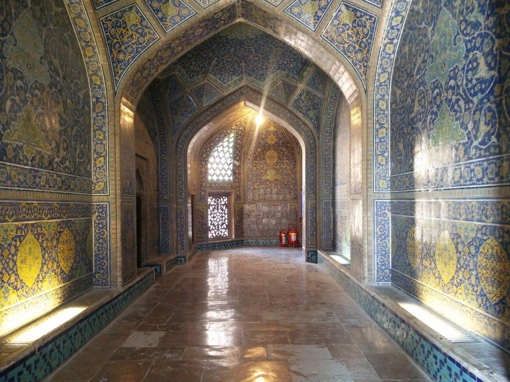mosquee du cheikh lotfallah interieur ispahan