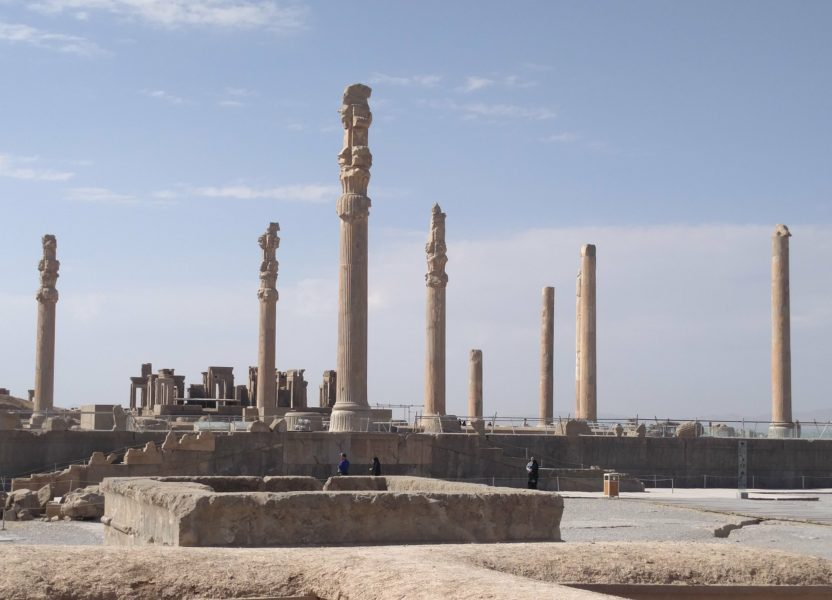 Visiting Persepolis and Necropolis in Iran
