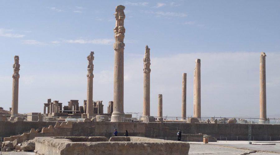 Visiting Persepolis and Necropolis in Iran