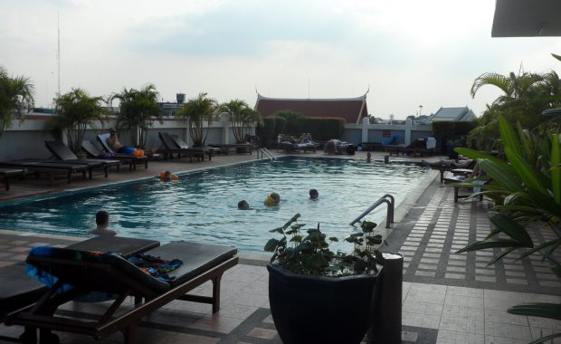 pool hostel