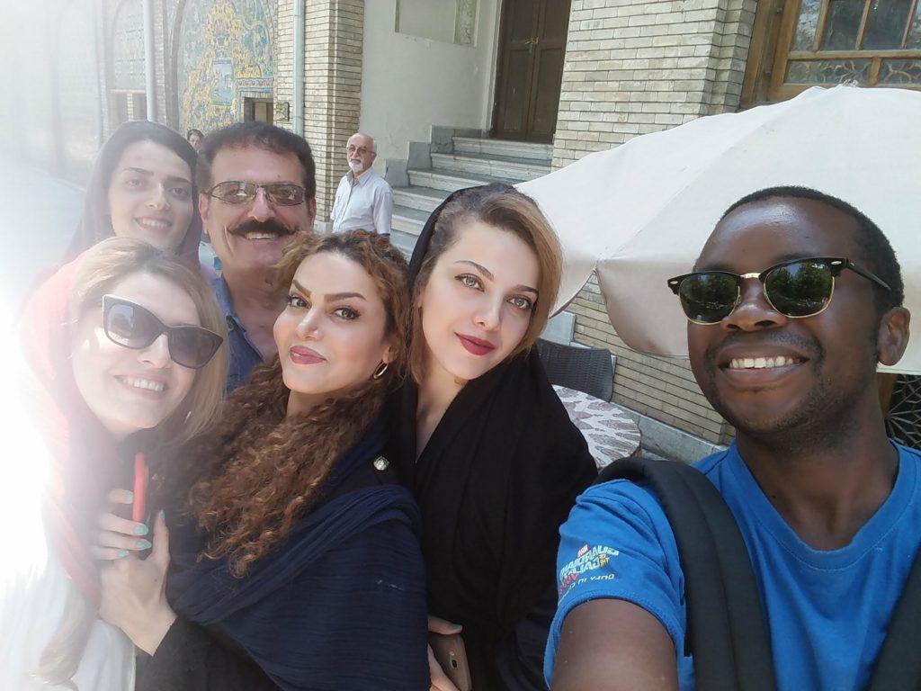 selfie iranians racism travel