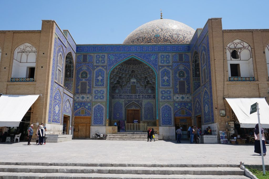 sheikh lotfallah mosque isfahan