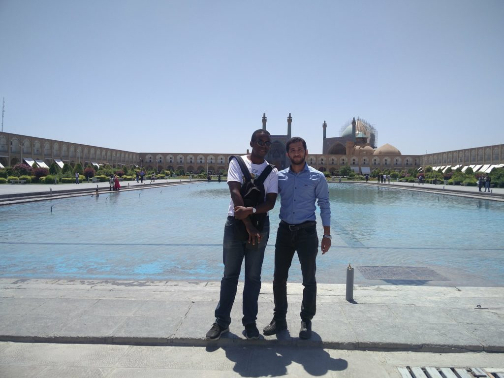 iran traveling while black