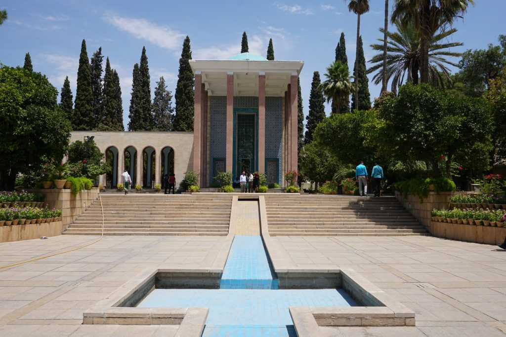 tomb of saadi shiraz