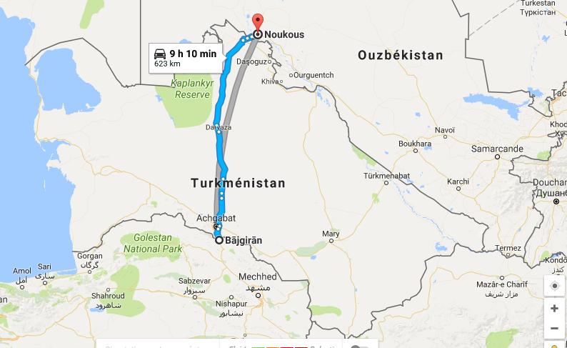 Capture ecran turkmenistan
