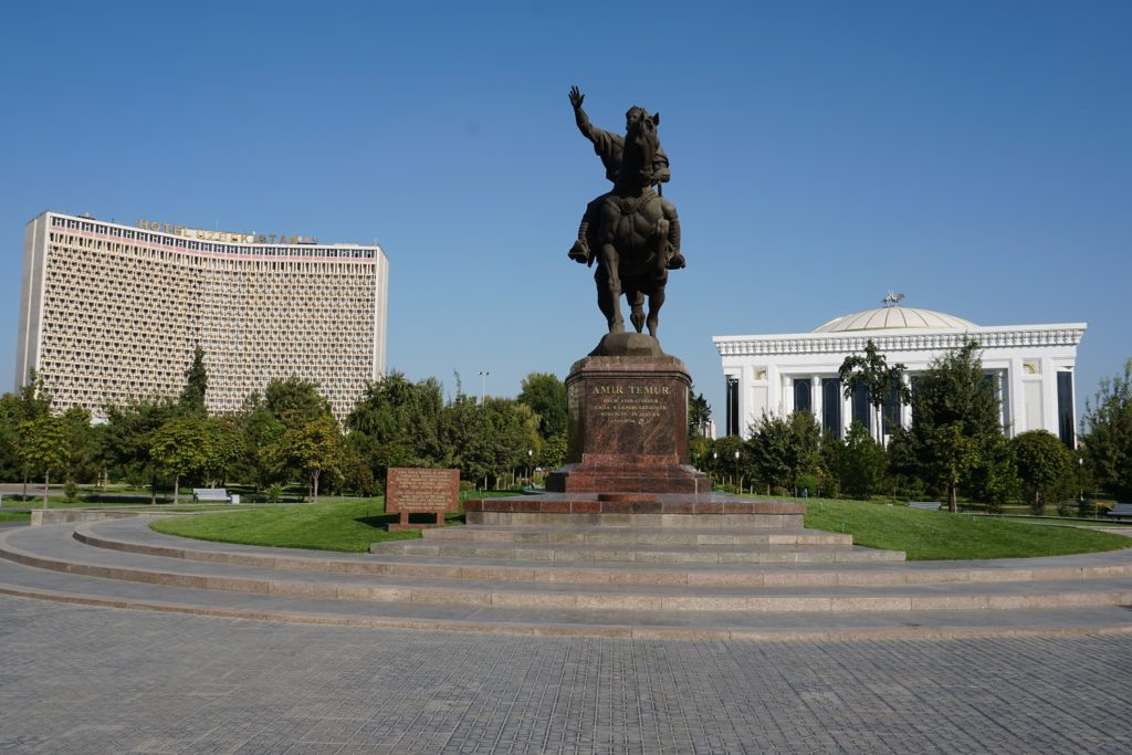 amir timur park tashkent