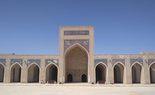 cour mosquee kalon boukhara