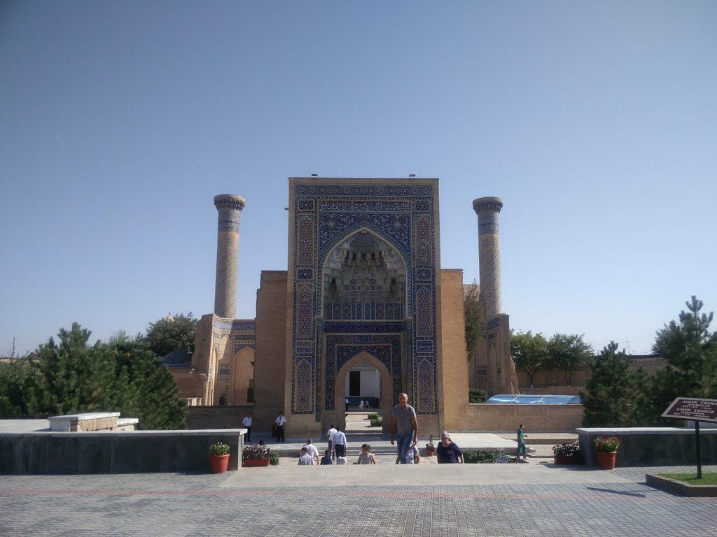 gur e amir mausoleum samarkand